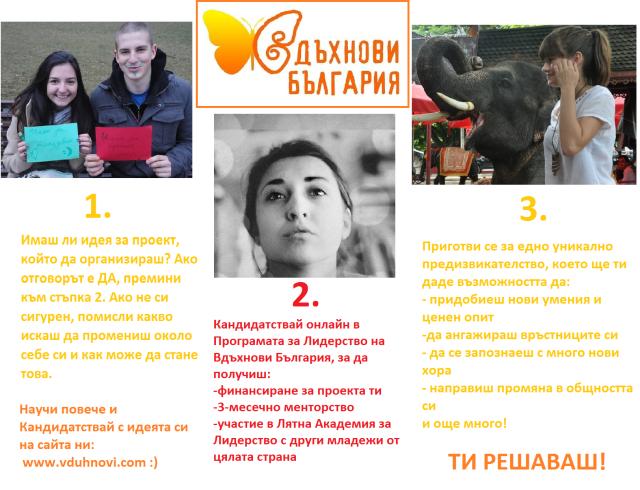 Вдъхнови България